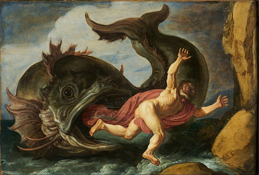 """Jonah and the Whale"" by Pieter Lastman"