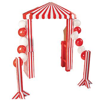 DIY Carnival Entrance
