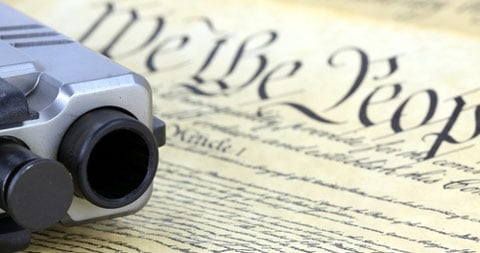 Taking away or infringing on our 2nd. Amendment rights to bear arms leaves us at the mercy of criminals and tyrannical government agencies!