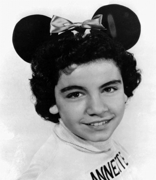 Annette as a Mouseketeer on The Mickey Mouse Club