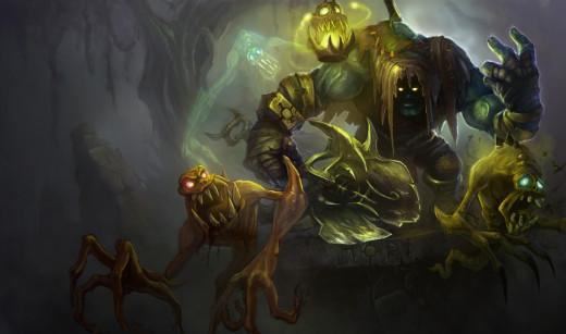 Yorick, League of Legends, copyright Riot Games, Inc.