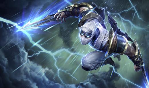 """Shockblade"" Zed, League of Legends, copyright Riot Games, Inc."