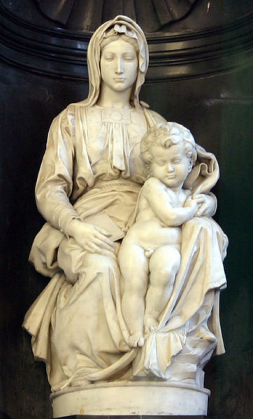 Madonna and Child. Brügge, Belgium