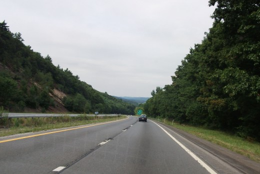 Driving to Connecticut