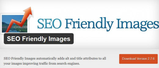 SEO Friendly Images automatically adds alt and title attributes to all your images improving traffic from search engines.