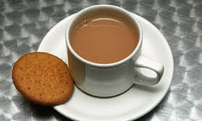 The British Standby...a Nice Cuppa Tea (and a digestive biscuit)
