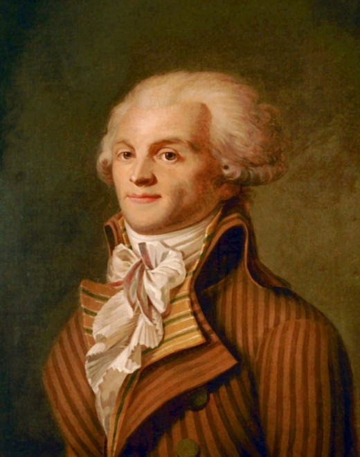 Maximillien Robspierre, leader of the Jacobins.