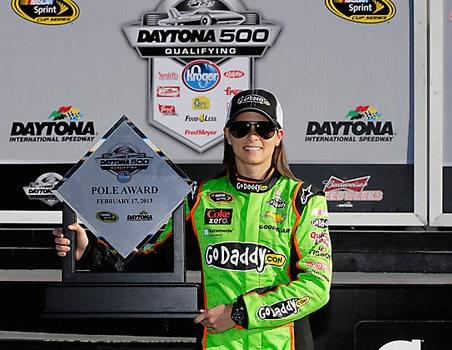 Patrick's pole start in the 2013 Daytona 500 was the high water mark for her rookie season