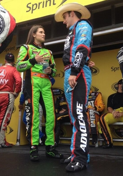 Patrick and fellow rookie Stenhouse Jr. had very different ends to their 2013 season