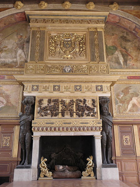 Chimneypiece at Fountainebleau