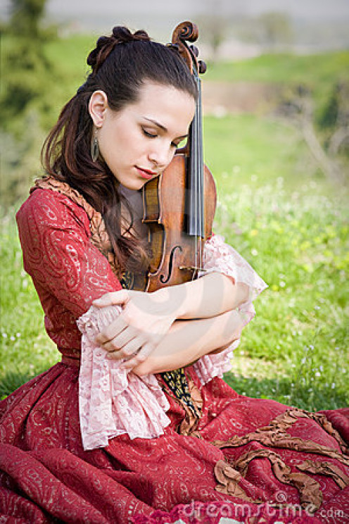 You don't just play the violin, You fall in love with the instrument.