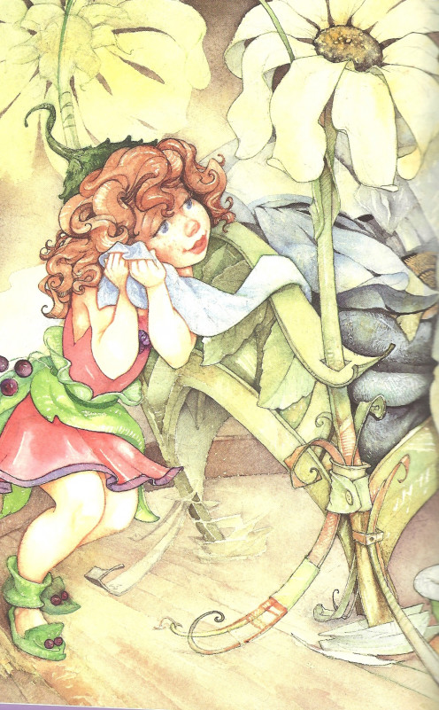 Image of Red hair Fairy Illustrated by David Christiana
