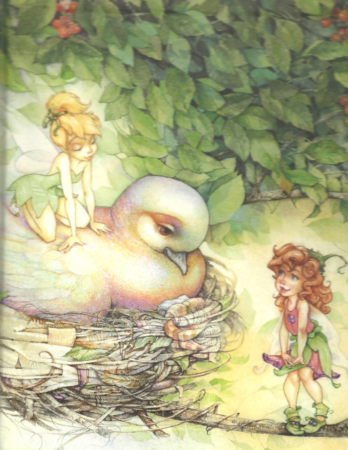 Illustrated By David Christiana Image of fairy.