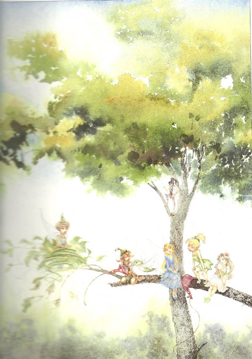 llustrated by David Christiana Fairy Durst and the Quest for the Egg (Faries in Tree)