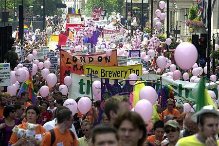 Celebrating in London