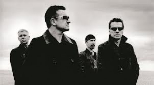 U2 has toured around the world to thousands of adoring fans. They have some of the best guitar solo's you will ever here.