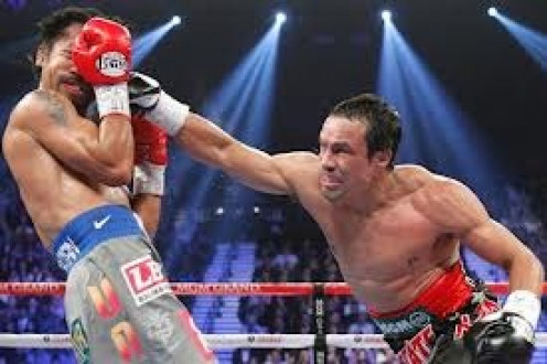 Juan Marquez knocked out Manny Pacquiao in their fourth and final meeting. Marquez is a master counter puncher and his heart can never be questioned.