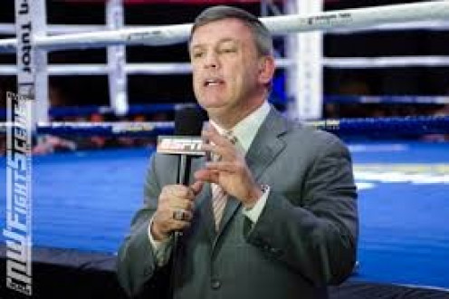 Teddy Atlas calls fights live from ringside for ESPN. He is also a great trainer in his own right. Teddy like Howard Cosell before him, tells it like it is.