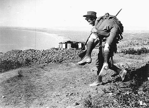Mateship was a dominant trait, recognized by many, as the ultimate example of the ANZAC legend
