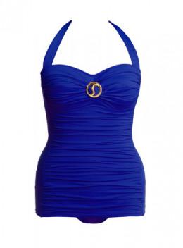 Sorella one-piece 2013 collection in ocean blue.