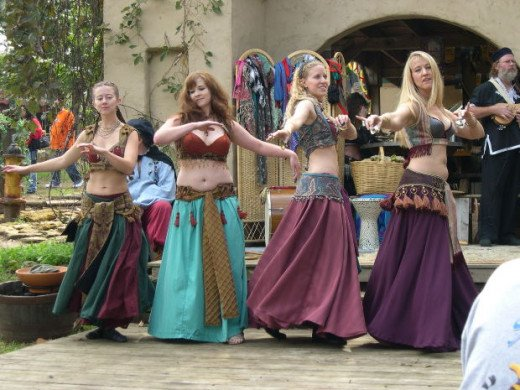 Belly dancers are fascinating to watch!
