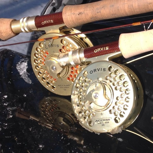 Two Arbor reel manufactured by OrvisCo Inc.