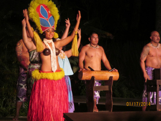 Show featuring dances of the different ethnic groups in Hawaii.