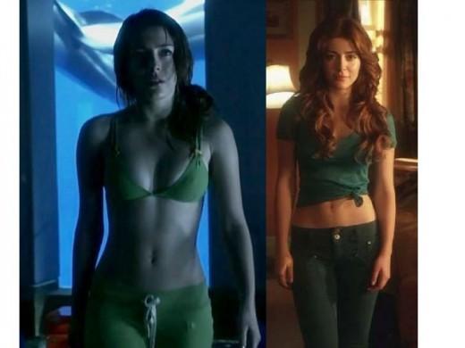Elena Satine as Mera on Smallville