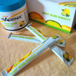 Want More Energy?  A natural Citrus-Flavored Electrolyte Mix of vitamins and minerals.