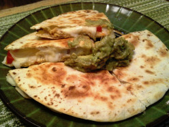 Quick and Easy Chicken Vegetable Quesadillas