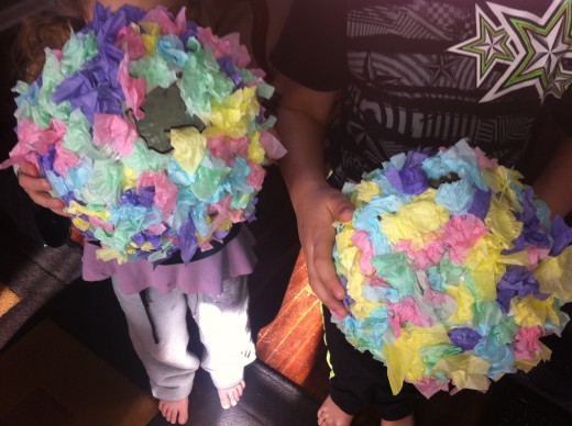 A piñata can be make weekly for themes in summer camp or monthly as a childcare, preschool or daycare celebration of the months events.