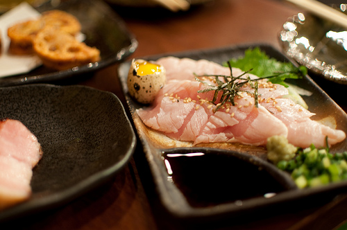 Toriwasa (Raw Chicken)