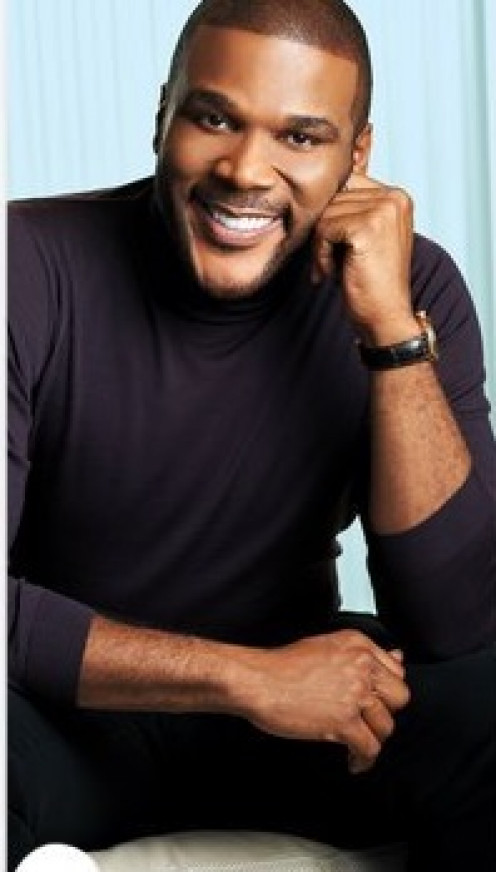 Photo of Actor and Producer Tyler Perry.
