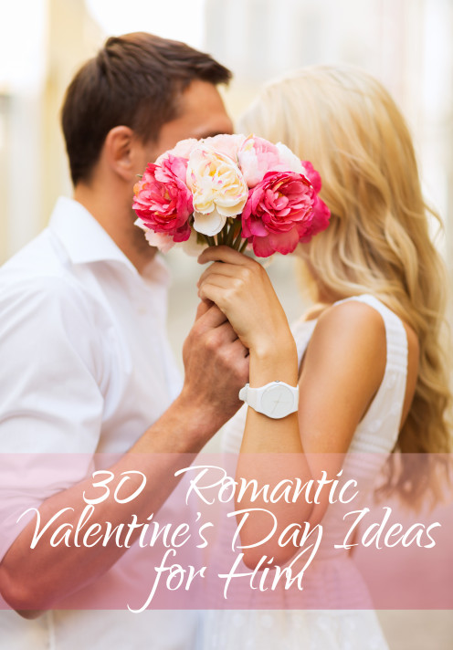 Surprise him and make this Valentine's Day all about your boy!