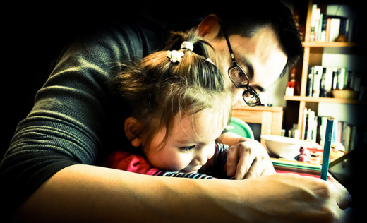Spend time with your daughter -- she needs her father in her life.