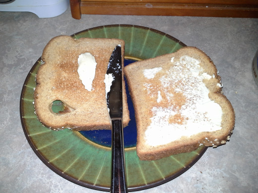 Step Ten: Butter your toast