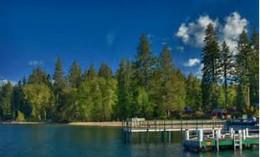 Picture Taken From Chambers Landing Tahoma Lake Tahoe California