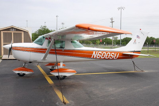 This Oklahoma State University Flying Aggies Cessna 150 was photographed at Stillwater, Oklahoma Municipal Airport  by Konstantin Von Wedelstaedt on May 8, 2009.