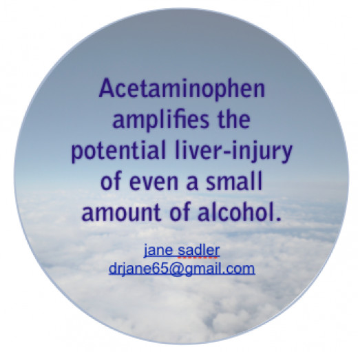 Think cough medicines and become familiar with all the concerns about acetaminophen and paracetamol.
