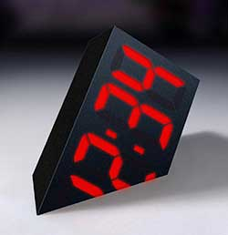 Novelty Digital Timepiece - The Sinking Clock