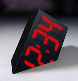 Novelty Digital Timepiece - The Sinking Clock