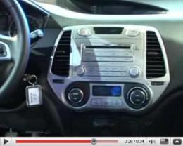 Hyundai I-20 Inner steering-dash click