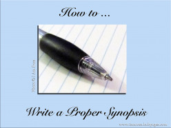How to Write a Proper Synopsis