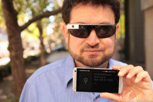 Google Glass iPhone integration