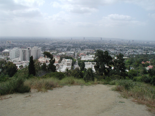 The view from Runyon Canyon