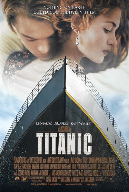 Titanic poster.