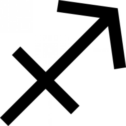 Sagittarius's glyph