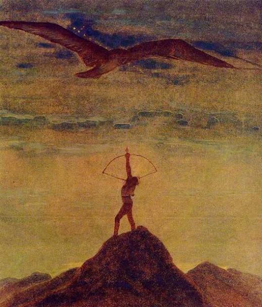 Šaulys (Sagittarius) by Grigas, Osvaldas, Sagittarius is ruled by Jupiter
