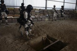Drug Tunnels, Smuggling Drugs Underground To Arizona, California, and Texas From Mexico