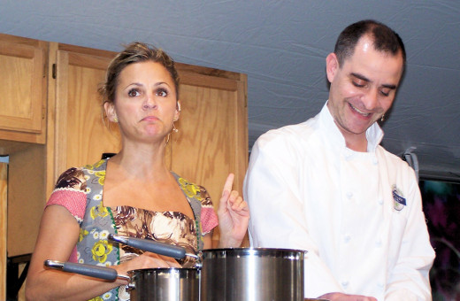 COOKING TOGETHER  :